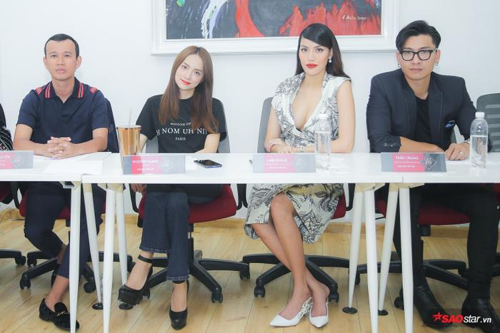 Siêu mẫu Trần Trung cùng Lan Khuê  Hương Giang tuyển chọn thí sinh Siêu mẫu Việt Nam 2019 ảnh 0