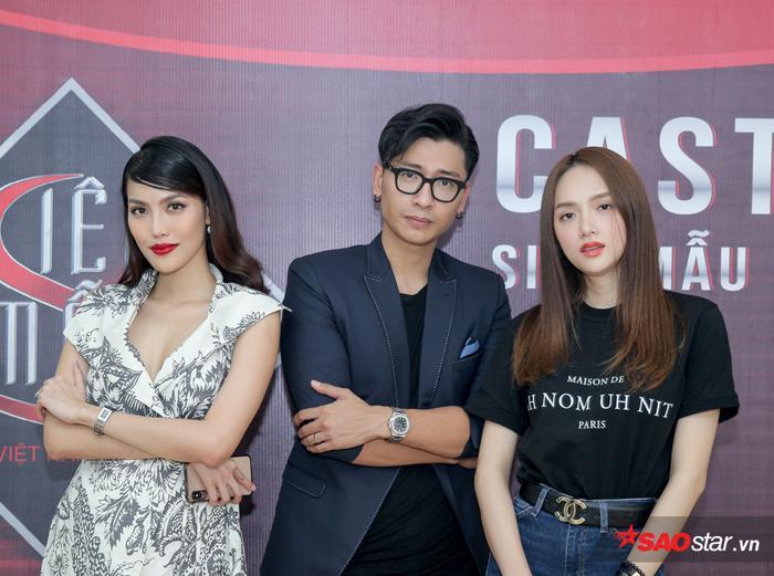 Siêu mẫu Trần Trung cùng Lan Khuê  Hương Giang tuyển chọn thí sinh Siêu mẫu Việt Nam 2019 ảnh 6