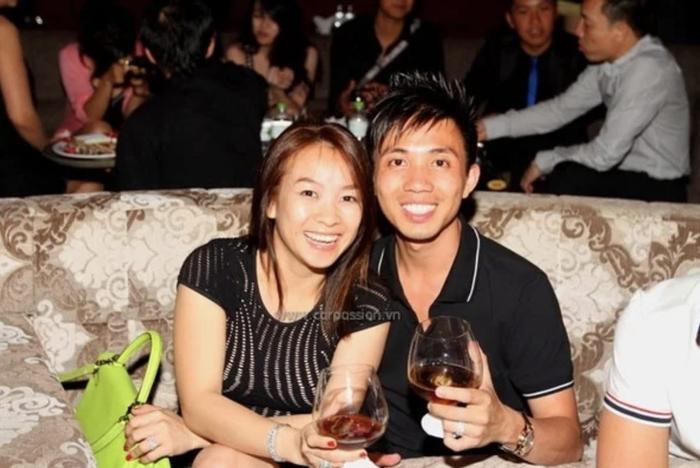 Hình ảnh hiếm hoi của Minh Nhựa và vợ đầu.