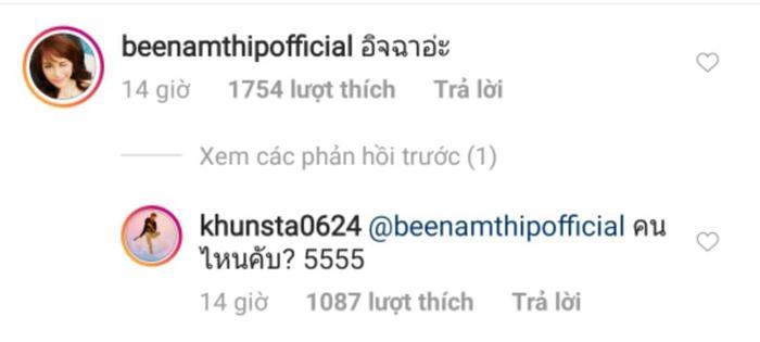 HLV the Face Thái Lan - Bee Namthip bày tỏ sự ghen tỵ với Nichkhun vì được chụp ảnh cùng Lisa.