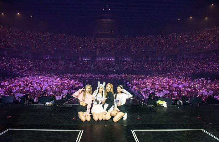 BlackPink tại concert ở Thái Lan.