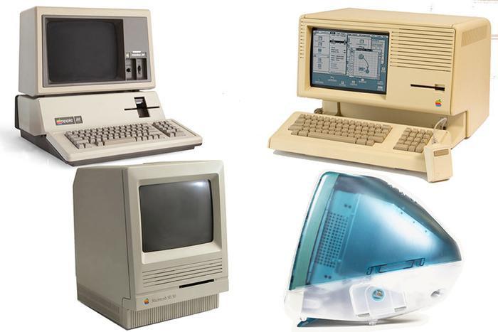 """Tất cả những thiết kế trên phảng phất nét đặc trưng riêng của các sản phẩm nhà """"Táo Khuyết"""" những năm 1980 như Apple III (năm 1981), Macintosh XL (năm 1984), Macintosh II (năm 1987), hay Macintosh SE/30 và Macintosh IIcx (đều sản xuất năm 1989)."""