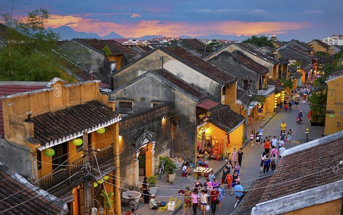 Tổ chức UNESCO đã công nhận đô thị cổ Hội An là Di sản văn hóa thế giới ngày 4/12/1999. (Ảnh: Thành Duy)