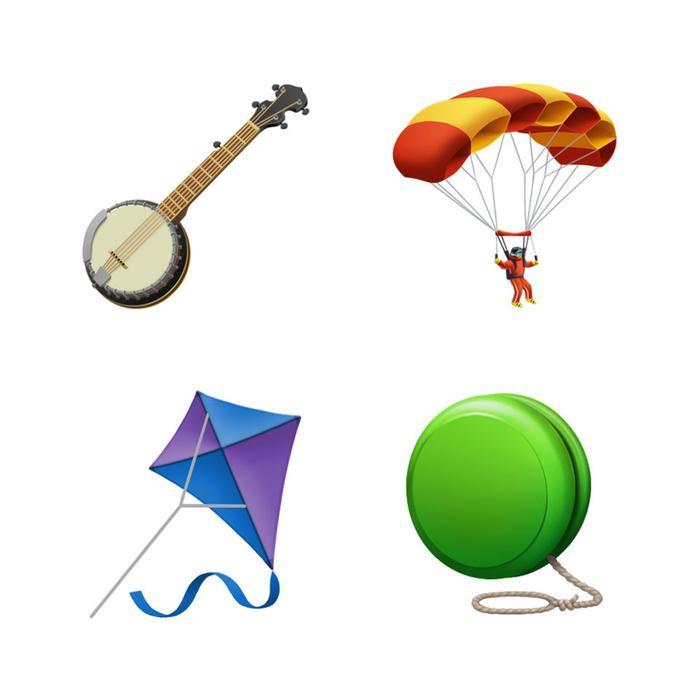 Cũng sẽ có nhiều emoji mới để người dùng thể hiện các sở thích của mình.