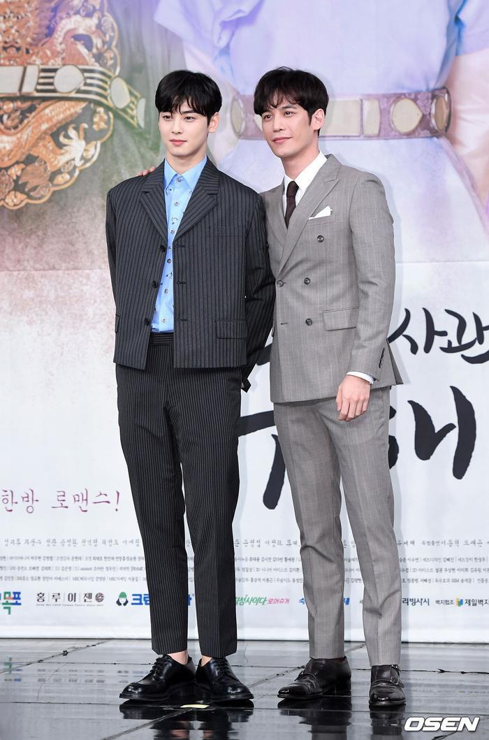 Họp báo Rookie Historian Goo Hae Ryung: Cha Eun Woo  Shin Se Kyung xinh như hoa, lấn áp cặp đôi phụ ảnh 17