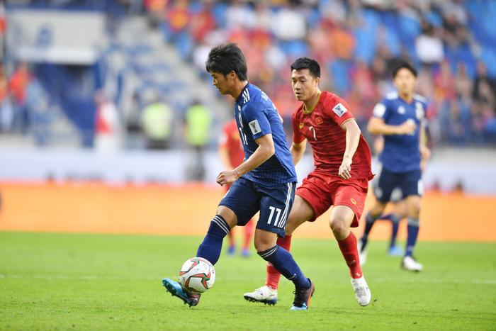 ĐT Việt Nam từng đem lại rất nhiều khó khăn cho ĐT Nhật Bản ở tứ kết Asian Cup 2018.