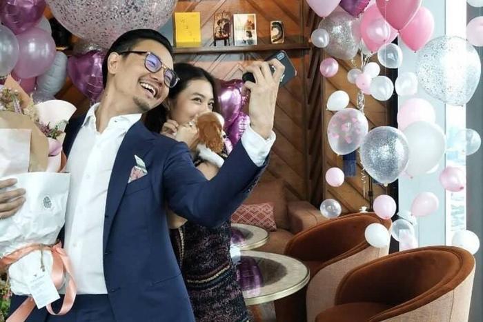 Mew Nittha gây bão mạng xã hội khi đăng tấm ảnh SAID YES trước màn cầu hôn của bạn trai thượng lưu ảnh 6