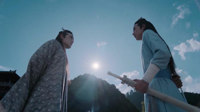 Lam Vong Cơ lần đầu tiên bày tỏ với anh hai chuyện muốn mang người về Vân Thâm Bất Tri Xứ.