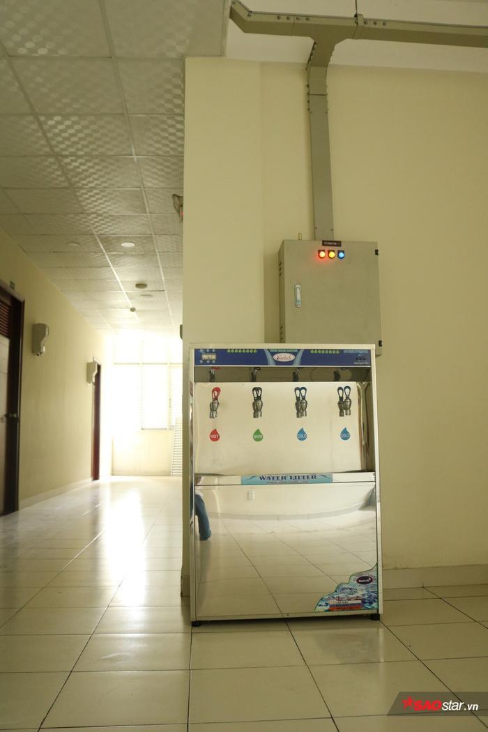 Máy lọc nước được trang bị sẵn.