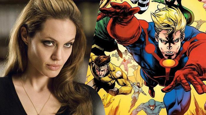 Lộ loạt ảnh Angelina Jolie trên phim trường bom tấn Eternal của Marvel! ảnh 4