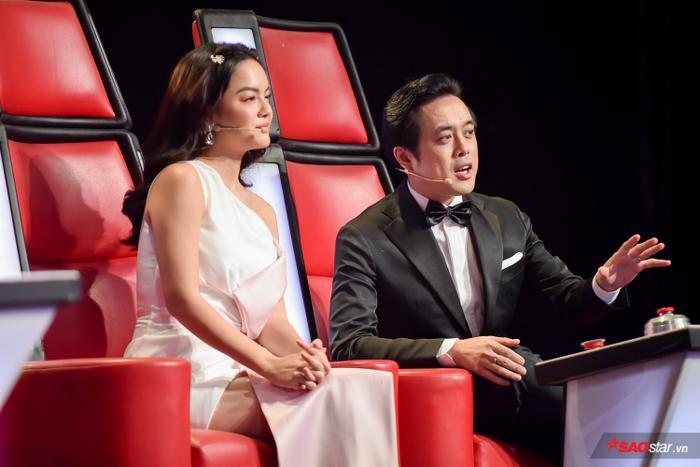 HLV Phạm Quỳnh Anh và Dương Khắc Linh cũng thể hiện khả năng chiêu dụ của mình…