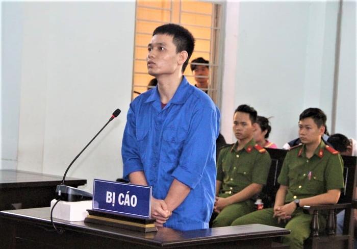 Bị cáo Hải tại phiên xét xử.