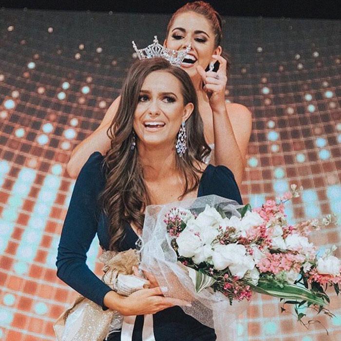 Sắp tới đây, Camille Schrier sẽ đại diện tiểu bang của mình tham dự cuộc thi Hoa hậu Mỹ 2019.