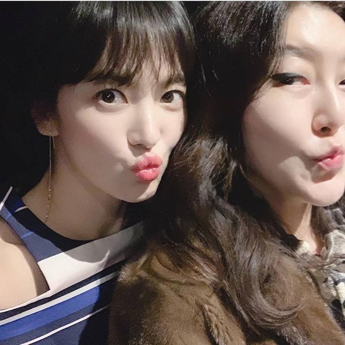 Song Hye Kyo và Han Hye Yeon.