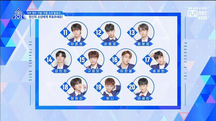 Chung kết PRODUCE X 101: Trùm cuối Hạng X chính thức thuộc về Lee Eunsang ảnh 23