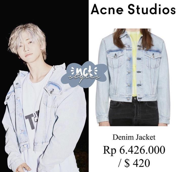 Áo khoác của Jaemin có giá 9 triệu 700 VNĐ.