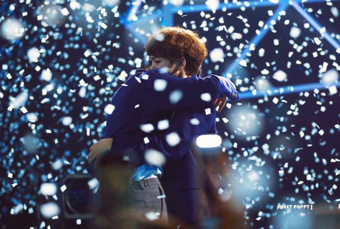 100 khoảnh khắc khóc cạn nước mắt của các thực tập sinh tại đêm chung kết Produce X 101 ảnh 24