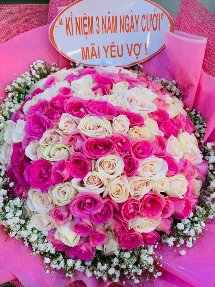 Kỉ niệm 3 năm ngày cưới, Thành Đạt dành tặng điều ngọt ngào này cho Hải Băng ảnh 1