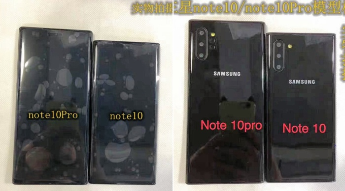 Hai phiên bản Galaxy Note 10 và Note 10 Pro có nhiều sự khác biệt và kích thước và hệ thống camera sau.