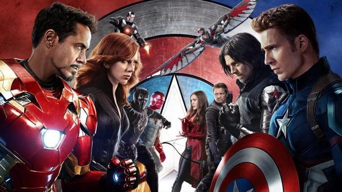 Black Widow được mang ra để so sánh với Civil War.