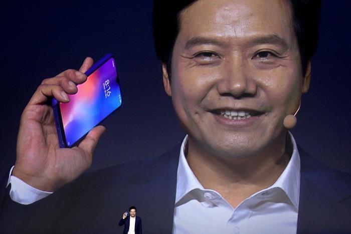 Lei Jun, người sáng lập Xiaomi. (Ảnh: WSJ)