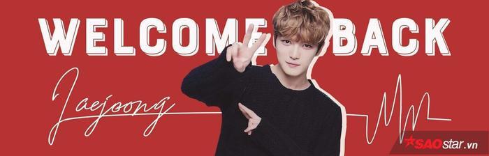 Chắc chắn không thể thiếu những tấm băng rôn để chào đón sự trở lại của Jae Joong.