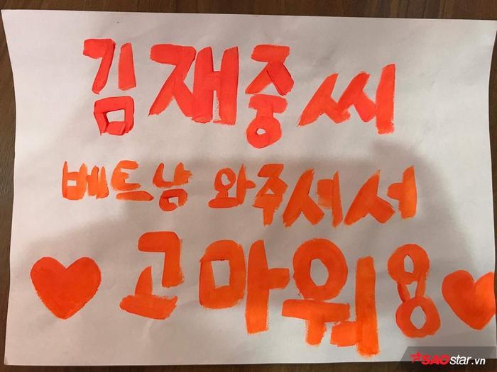 Vài giờ trước khi Kim Jae Joong đến Việt Nam, cùng ngắm nghía loạt quà tặng yêu không đỡ nổi từ cộng đồng V-Cass ảnh 8