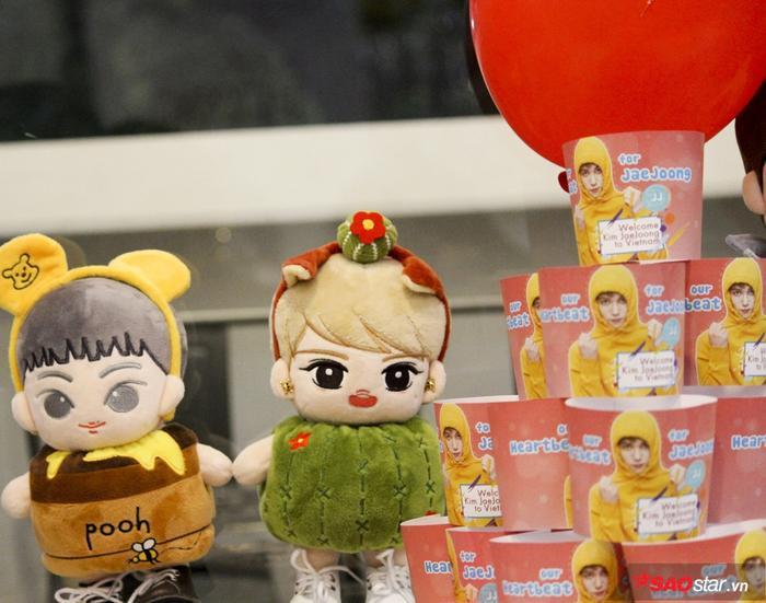 """Những chú gấu bông Jae Joong """"nhí"""" hình chibi vô cùng đáng yêu."""