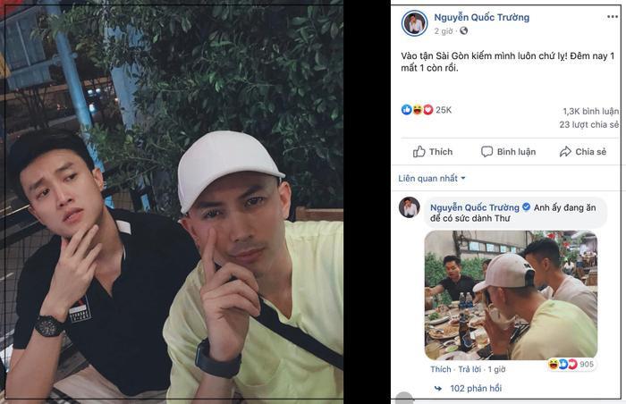 Vũ sở khanh và Dũng tái hợp ở Sài Gòn, xem ảnh bị tag với ảnh tự đăng mà fans cười đau ruột ảnh 1