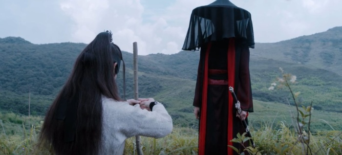 """Cũng chính cô gái ấy là người đã giúp Ngụy Anh diễn vở kịch """"Bão Sơn tán nhân chữa trị nội đan"""" với Giang Trừng, góp phần cứu vớt Giang Trừng trong tột cùng tuyệt vọng"""