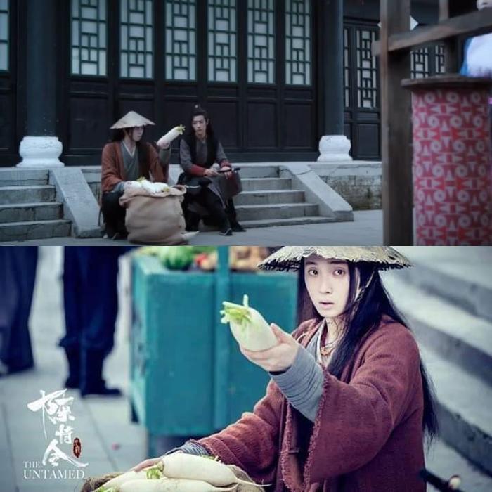 Ôn Ninh đã thức tỉnh tâm trí, cùng Ngụy Anh đi bán củ cải