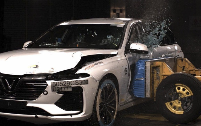 Vượt qua những bài kiểm tra này, ô tô VinFast sẽ đạt được chứng nhận an toàn 5 sao ASEAN NCAP, đồng thời đáp ứng được những tiêu chuẩn cao cấp của châu Âu.