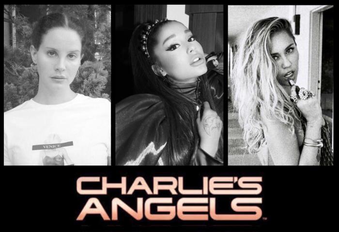 Đây rất có thể là ảnh hậu trường từ MV Angel – Sản phẩm kết hợp của bộ ba Ariana Grande, Miley Cyrus và Lana Del Rey.