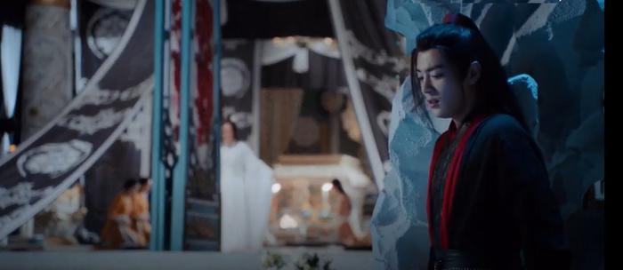 Ngụy Anh lén đến Kim Lân đài, có lẽ muốn nói một câu xin lỗi với sư tỷ