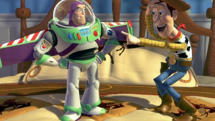 Toy Story 1995 đã mang đến cuộc cách mạng làm phim 3D tại Hollywood.