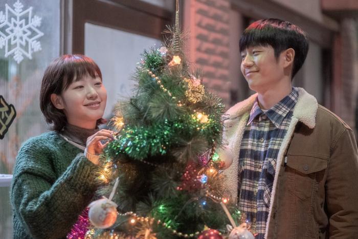 Mối tình ngọt ngào, rung động trái tim của Jung Hae In và Kim Go Eun trong phim Tune in for Love ảnh 2
