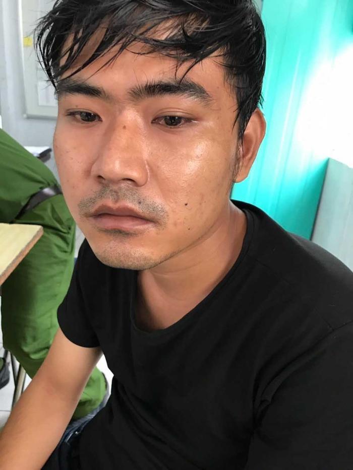 Kim Thanh Bình - gã trai đâm tử vong bạn gái trên đường phố Sài Gòn. (Ảnh: VNN).