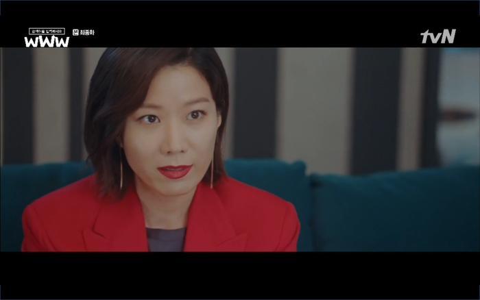 Ban đầu Song Ga Kyung còn lưỡng lự nhưng cuối cùng vẫn chọn giúp.