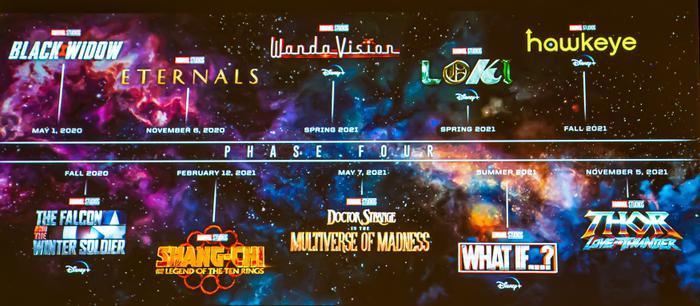 Marvel sẽ khá bận rộn trong những năm tới.