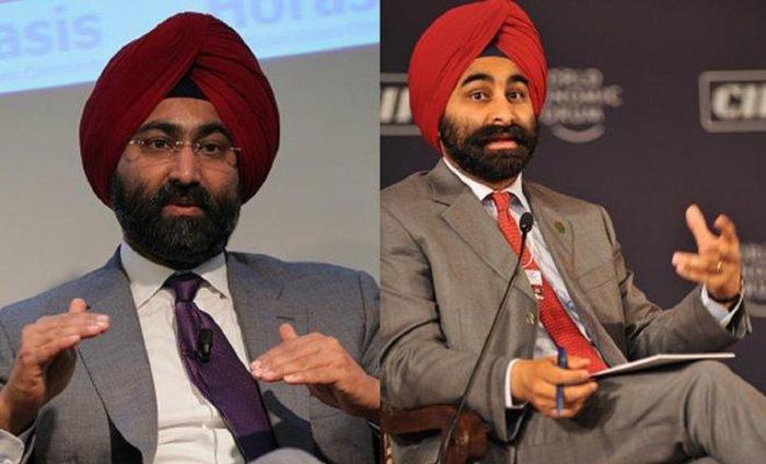 Malvinder Mohan Singh và Shivinder Mohan Singh (từ trái qua phải)