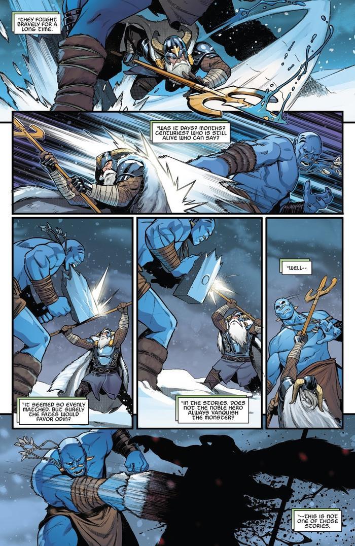 Odin bại trận