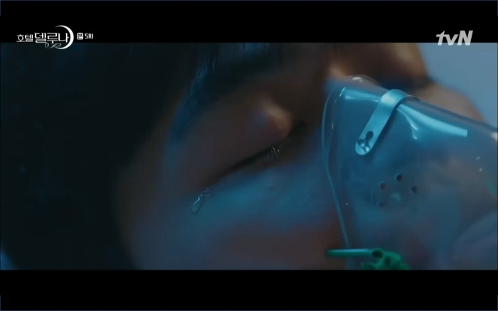 Phim Hotel Del Luna tập 5: IU nổi trận lôi đình khi Yeo Jin Goo dám đồng ý kết hôn với hồn ma ảnh 48