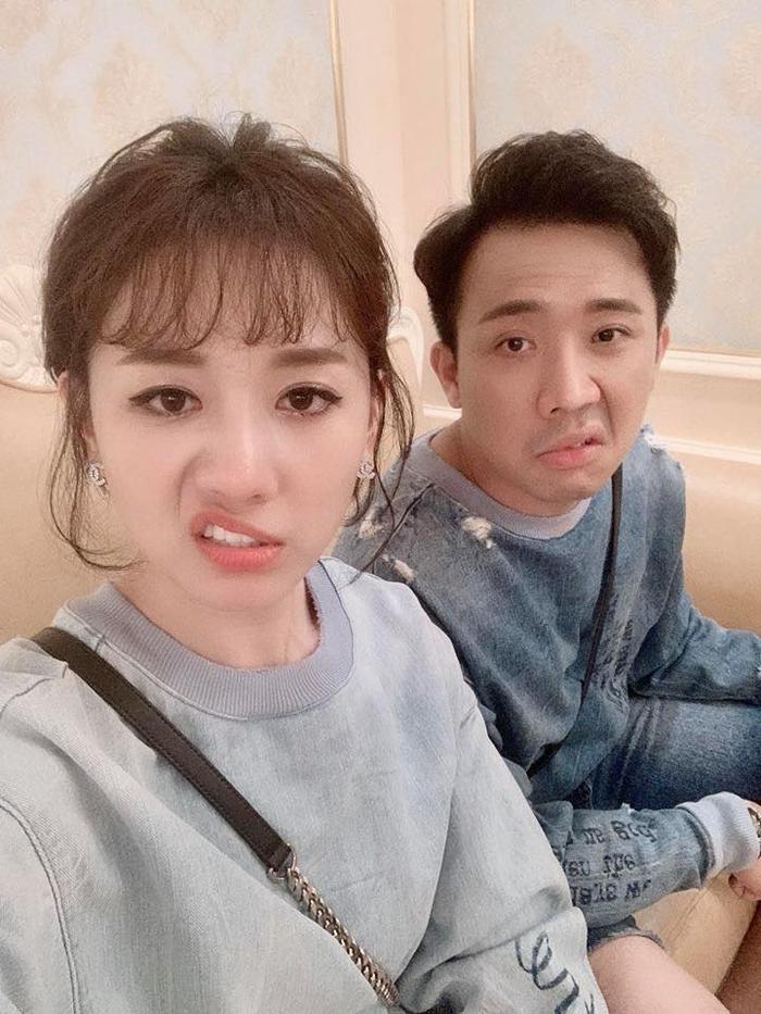 Hari Won nổi giận khi chỉ đi ăn sáng thôi nhưng Trấn Thành cũng đưa cô vào nhà hàng sang chảnh ăn