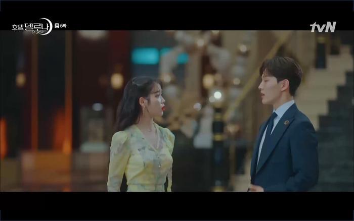 Phim Hotel Del Luna tập 6: IU ghen và giận dỗi vì Yeo Jin Goo gặp bạn gái cũ ảnh 13