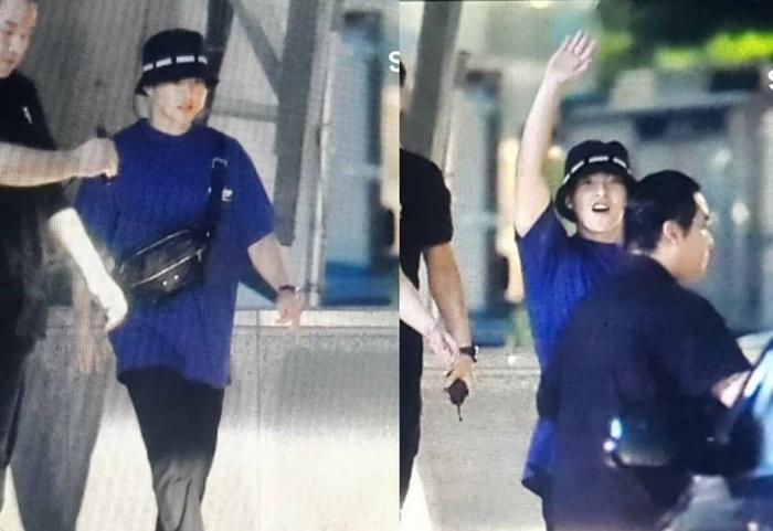 Xiumin bất ngờ xuất hiện tại concert của EXO và những cái chào nhau quyến luyến khiến fan rưng rưng