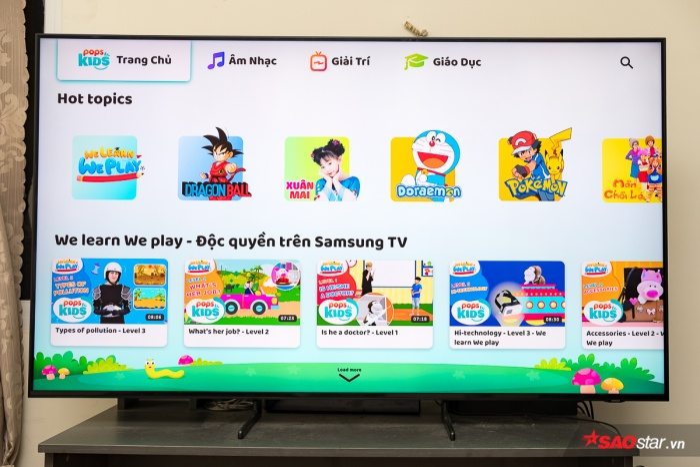 5 ứng dụng hữu ích mà người dùng cần cài ngay trên smart TV của Samsung ảnh 2