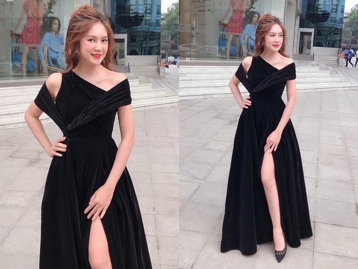 Cô thường xuất hiện với trang phục lộng lẫy