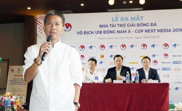HLV Hoàng Anh Tuấn mong muốn U18 Việt Nam có thành tích tốt ở giải U18 Đông Nam Á 2019.