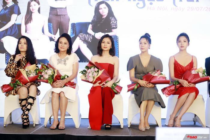 Kiều Thanh  Diệu Hương trở lại màn ảnh nhỏ, Lương Thanh hóa Tuesday tranh chồng cùng Hồng Diễm ảnh 9