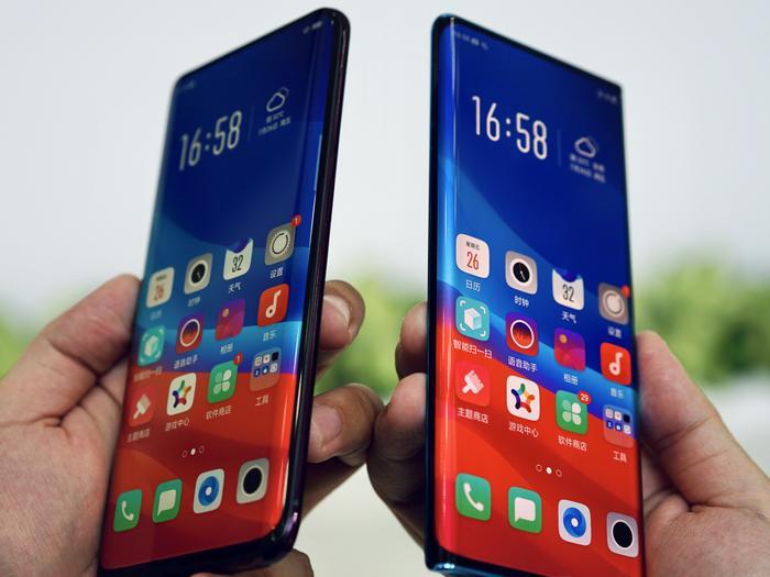 OPPO giới thiệu màn hình thác nước siêu cong đẹp mướt mắt cho smartphone ảnh 0